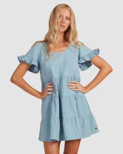 3 Pixie Dress Blue ABJWD00389 Billabong