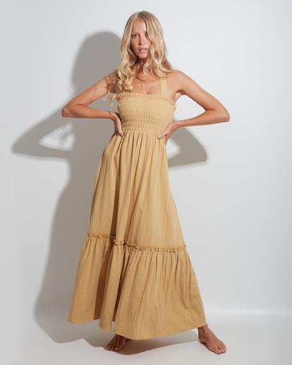 2 Charlotte Maxi Dress Yellow ABJWD00395 Billabong
