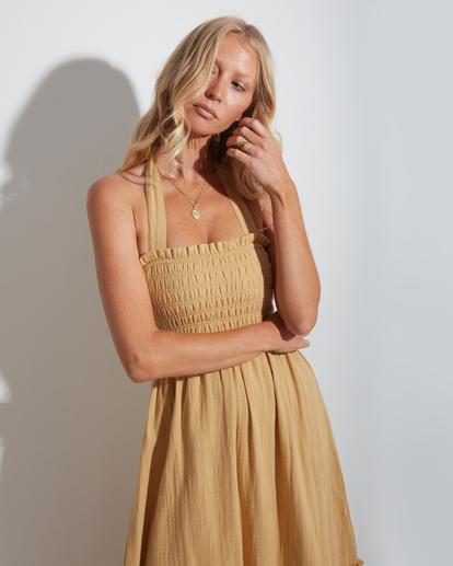 3 Charlotte Maxi Dress Yellow ABJWD00395 Billabong