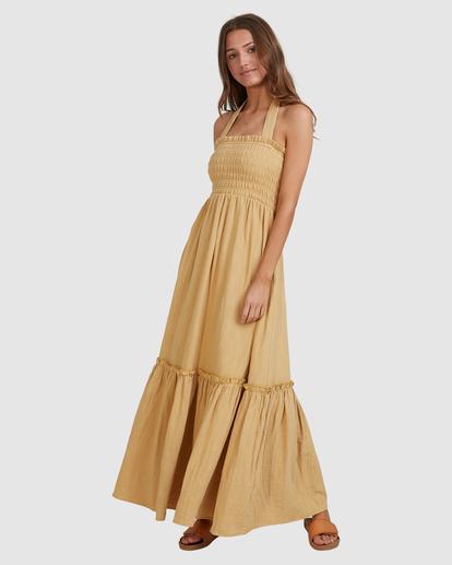 10 Charlotte Maxi Dress Yellow ABJWD00395 Billabong