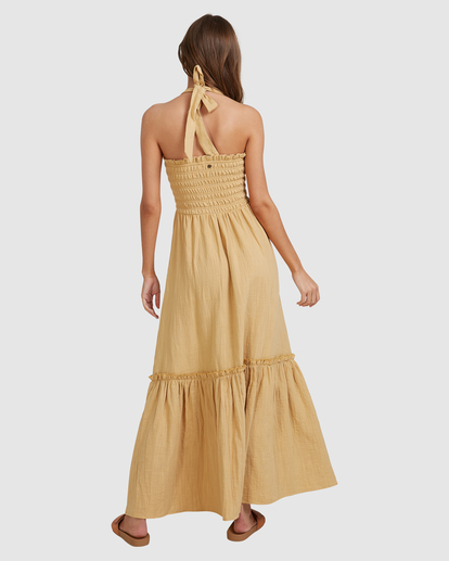 7 Charlotte Maxi Dress Yellow ABJWD00395 Billabong