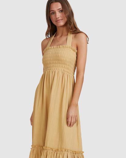 9 Charlotte Maxi Dress Yellow ABJWD00395 Billabong
