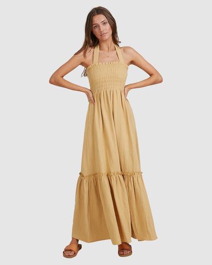 8 Charlotte Maxi Dress Yellow ABJWD00395 Billabong