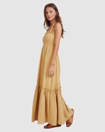 5 Charlotte Maxi Dress Yellow ABJWD00395 Billabong
