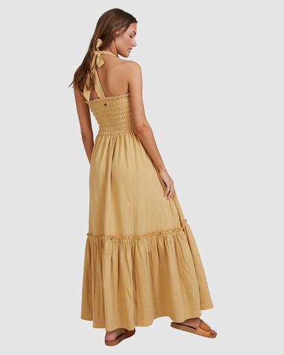 6 Charlotte Maxi Dress Yellow ABJWD00395 Billabong