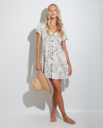 1 Moonflower Mini Dress Green ABJWD00398 Billabong