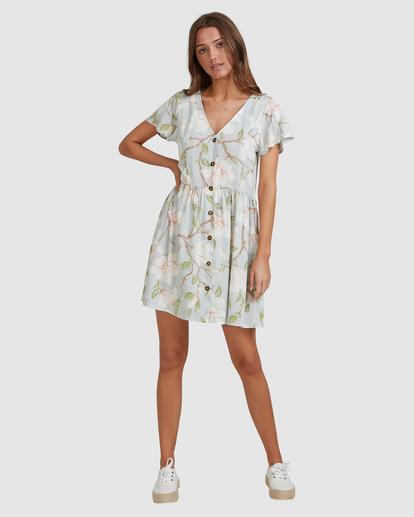 8 Moonflower Mini Dress Green ABJWD00398 Billabong