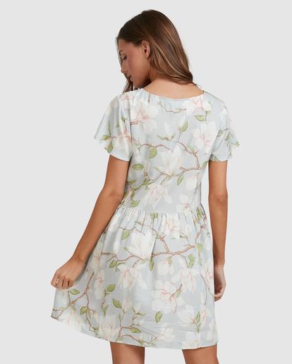 5 Moonflower Mini Dress Green ABJWD00398 Billabong