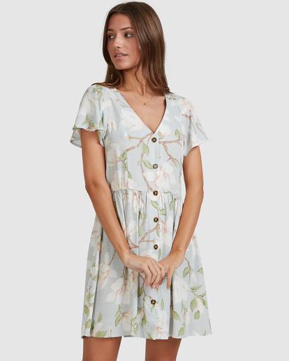 2 Moonflower Mini Dress Green ABJWD00398 Billabong