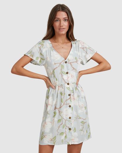 6 Moonflower Mini Dress Green ABJWD00398 Billabong