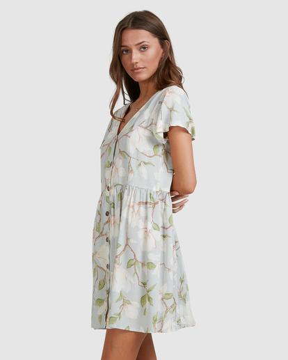 3 Moonflower Mini Dress Green ABJWD00398 Billabong