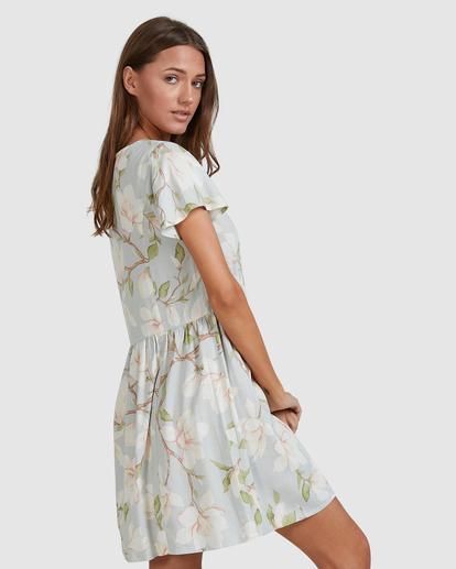 4 Moonflower Mini Dress Green ABJWD00398 Billabong