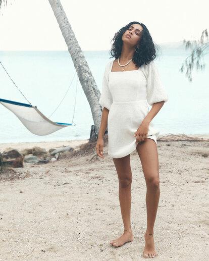 1 Island Mini Dress White ABJWD00402 Billabong