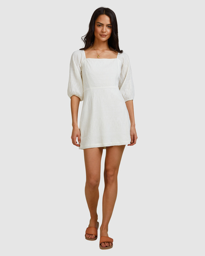 9 Island Mini Dress White ABJWD00402 Billabong