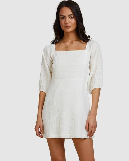 3 Island Mini Dress White ABJWD00402 Billabong