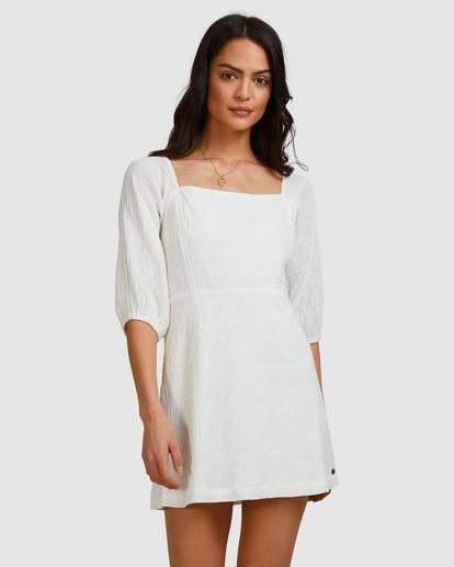 7 Island Mini Dress White ABJWD00402 Billabong