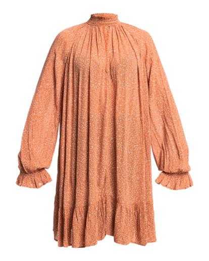 4 Morning Coffee Mini Dress Brown ABJWD00409 Billabong