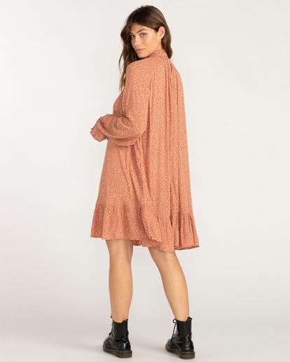 2 Morning Coffee Mini Dress Brown ABJWD00409 Billabong
