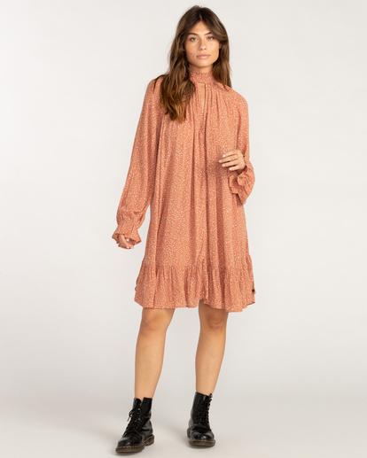 3 Morning Coffee Mini Dress Brown ABJWD00409 Billabong