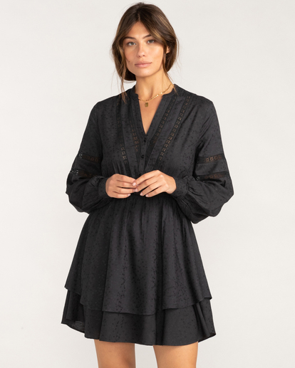 1 Blue Song Mini Dress Black ABJWD00411 Billabong
