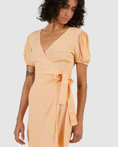 5 Hot Tropics Wrap Mini Dress Multicolor ABJWD00413 Billabong