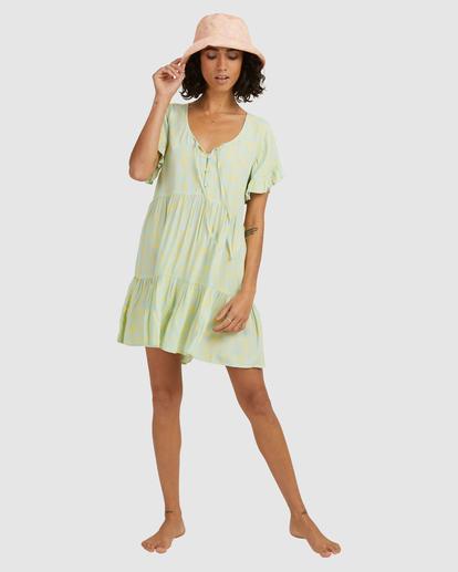 5 Hot Tropics Mini Dress Blue ABJWD00414 Billabong