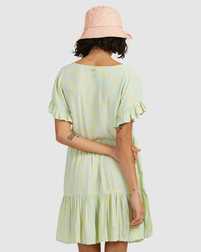 2 Hot Tropics Mini Dress Blue ABJWD00414 Billabong