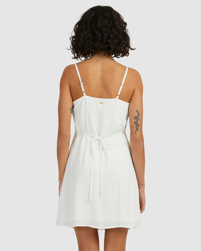 2 Sweet For Ya Mini Dress White ABJWD00415 Billabong