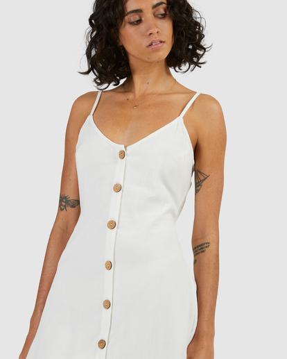 4 Sweet For Ya Mini Dress White ABJWD00415 Billabong