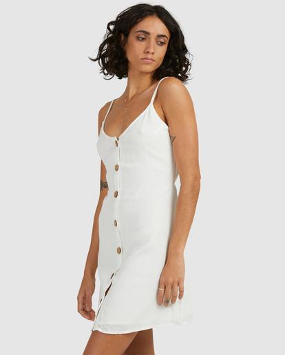 0 Sweet For Ya Mini Dress White ABJWD00415 Billabong
