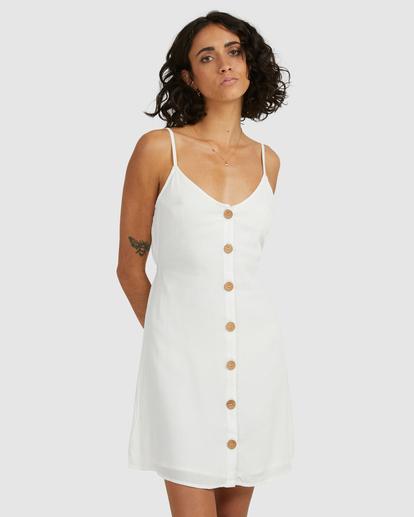 3 Sweet For Ya Mini Dress White ABJWD00415 Billabong