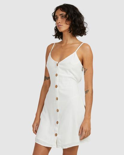 1 Sweet For Ya Mini Dress White ABJWD00415 Billabong