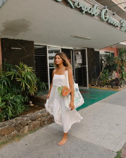 0 Tropic Haze Maxi Dress Grey ABJWD00416 Billabong