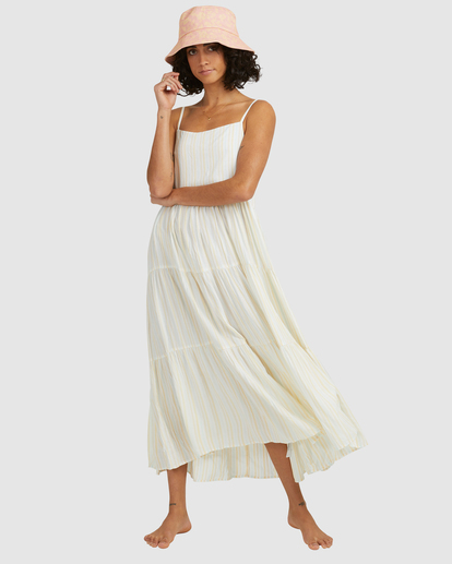 1 Tropic Haze Maxi Dress Grey ABJWD00416 Billabong
