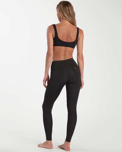 2 1mm Skinny Sea Legs Wetsuit Pants Black ABJWH00103 Billabong