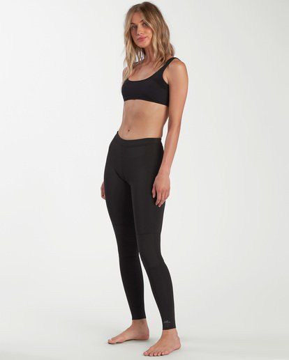 1 1mm Skinny Sea Legs Wetsuit Pants Black ABJWH00103 Billabong