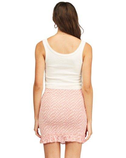 3 Eyes On You Mini Skirt Pink ABJWK00115 Billabong