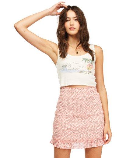 1 Eyes On You Mini Skirt Pink ABJWK00115 Billabong