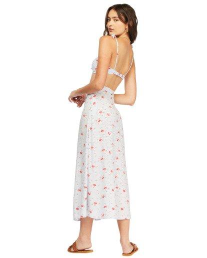 3 Flirty Daze Midi Skirt White ABJWK00116 Billabong