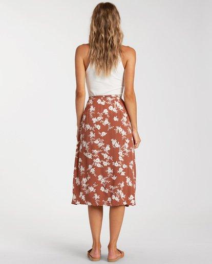 2 Wild And Free Skirt Brown ABJWK00117 Billabong