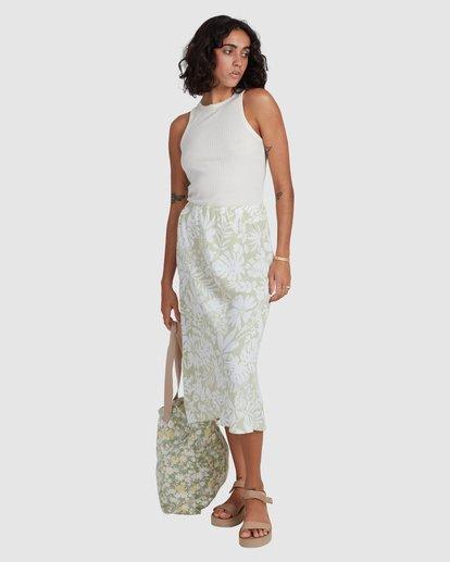 5 Honey Dew Skirt Green ABJWK00134 Billabong