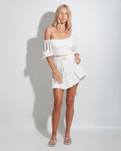 0 Island Mini Skirt White ABJWK00135 Billabong