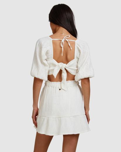 4 Island Mini Skirt White ABJWK00135 Billabong