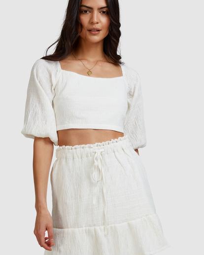 6 Island Mini Skirt White ABJWK00135 Billabong