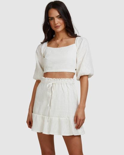 1 Island Mini Skirt White ABJWK00135 Billabong