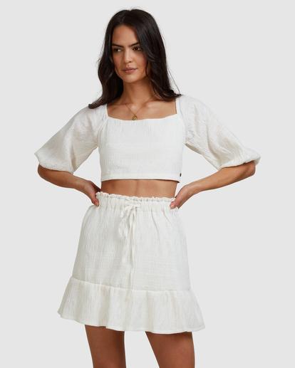 5 Island Mini Skirt White ABJWK00135 Billabong