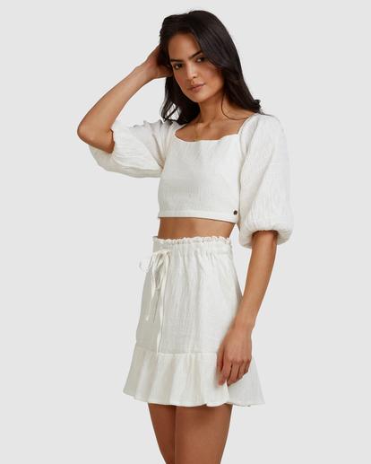 2 Island Mini Skirt White ABJWK00135 Billabong