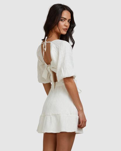3 Island Mini Skirt White ABJWK00135 Billabong