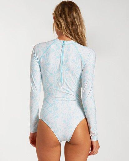 1 Core Long Sleeve Swimsuit Grey ABJWR00115 Billabong