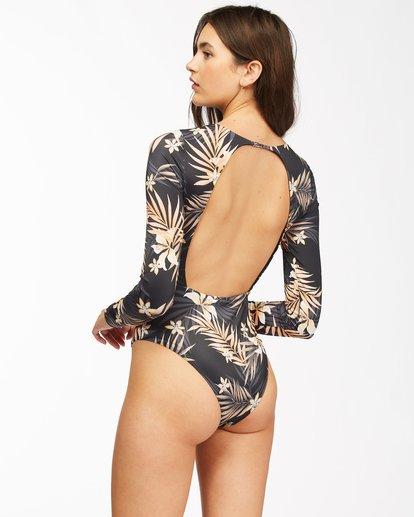 1 Safari Nights Long Sleeve Swimsuit Black ABJWR00141 Billabong